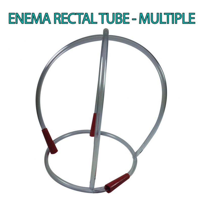 Enema Rectal Tube Multiple Crown shape James Health 1000 Plus