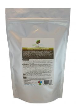 Organic Fairtrade Coffee Enema Grinds Medium Roast 400g back pack view - Australia - James Health 1000 Plus