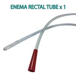 Enema Rectal Tube x Suitable for Coffee and Water - straight tip end - James Health 1000 Plus