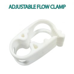 Adjustable Flow Clamp for coffee enema equipment - James Health 1000 Plus