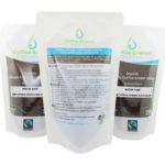 Organic Fairtrade Coffee Enema Solution - Medium Roast - 2 Front 1 rear Australia - James Health 1000 Plus