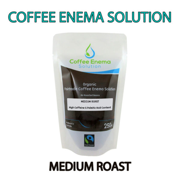 Organic Fairtrade Coffee Enema Solution - Medium Roast Pouch - James Health 1000 Plus