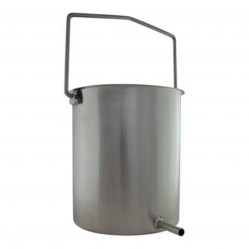 Quality Stainless Steel Enema Bucket - Coffee Water - Australia - James Health 1000 Plus