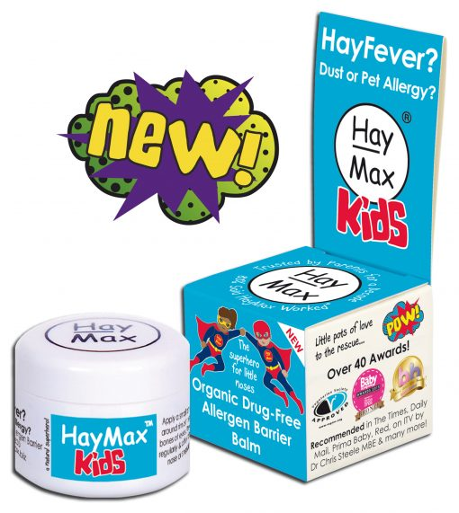 HayMax Organic Drug Free Hayfever Dust and Pet Allergen Barrier Balm Kids - Australia - James Health 1000 Plus
