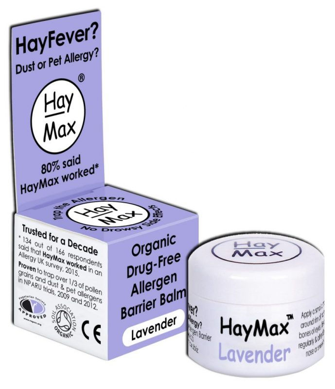 HayMax™ Lavender Hayfever Dust Pet Allergen Barrier Balm - Australia - James Health 1000 Plus