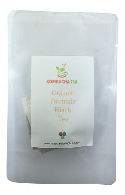 Kombucha Tea Black Organic Fairtrade Tea in Pouch
