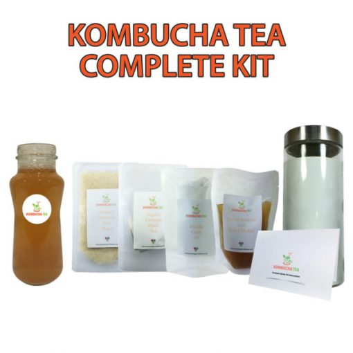 Kombucha Tea Complete Starter Kit New James Health 1000 Plus