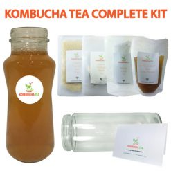 Kombucha Tea Complete Starter Kit New v2 James Health 1000 Plus