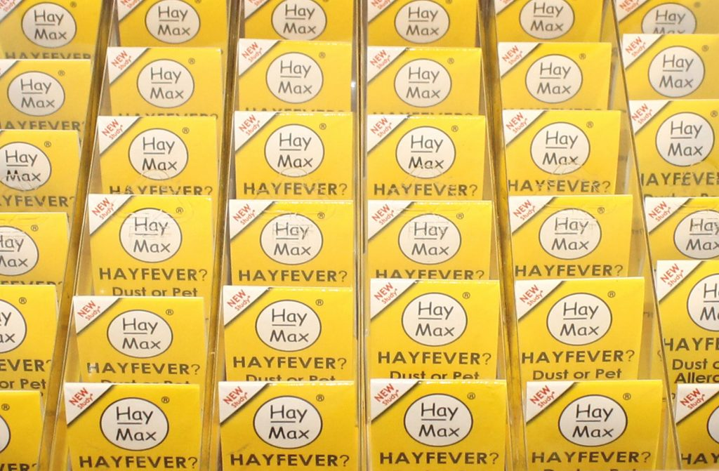 Rows of 6 Packs of Haymax PURE - HayMax Australia